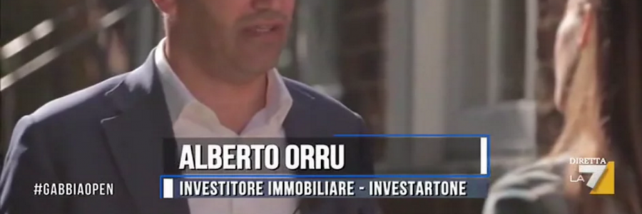 Italian TV La7 interviews Alberto Orru